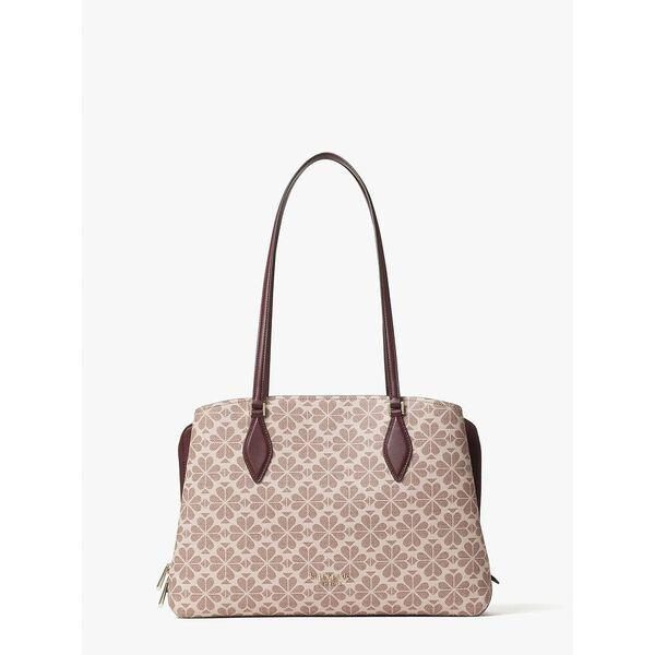 Fashion 4 - spade flower coated canvas zeezee large work tote