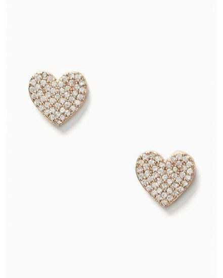 Fashion 4 - yours truly pave heart studs