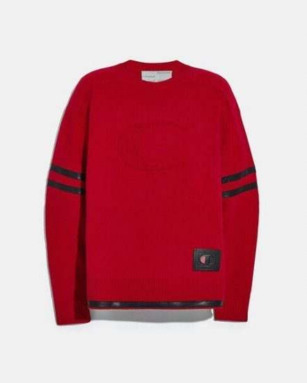 Fashion 4 Coach Coach X Champion Football Sweater