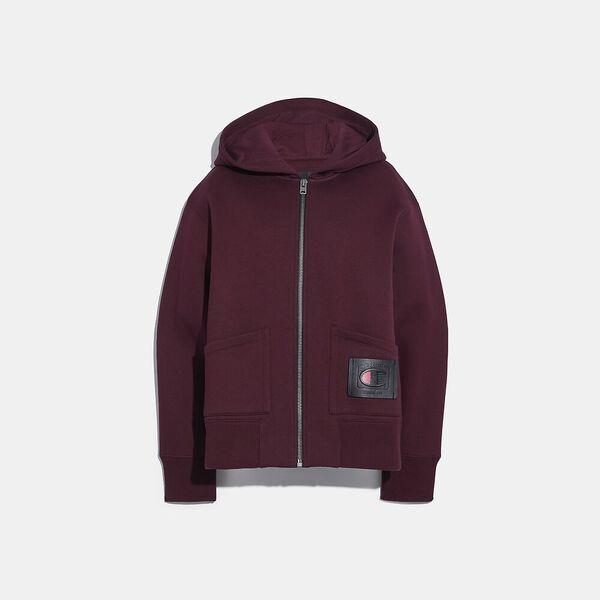 Fashion 4 Coach Coach X Champion Super Fleece Zip Hoodie