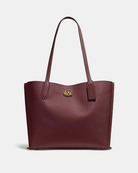 Fashion 4 Coach Willow Tote In Colorblock