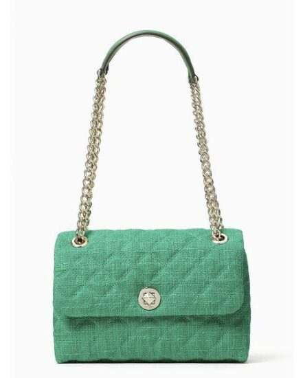Fashion 4 - natalia solid tweed medium flap shoulder bag