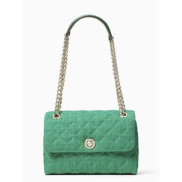 Fashion 4 - natalia solid tweed medium flap shoulder bag