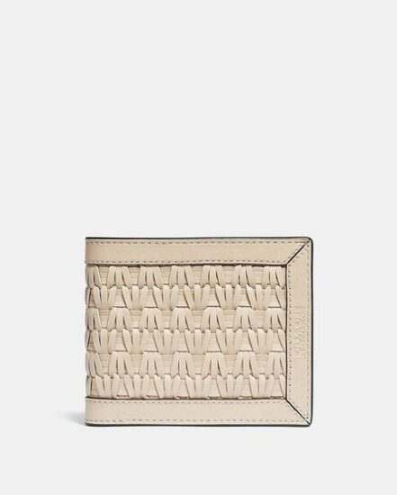 Fashion 4 Coach 3-In-1 Wallet With Weaving