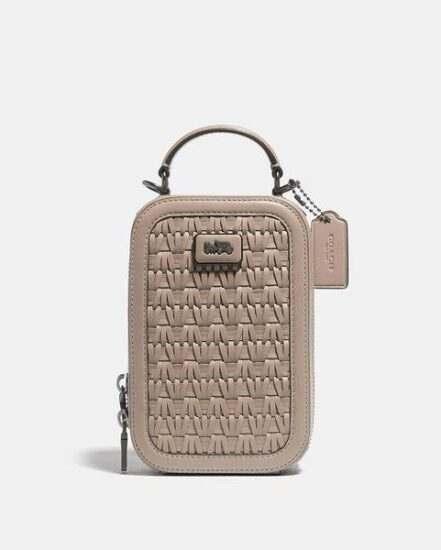 Fashion 4 Coach Alie Camera Bag With Weaving