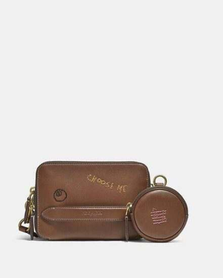 Fashion 4 Coach Charter Crossbody With Hybrid With Embroidery