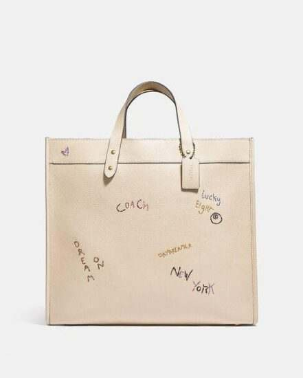 Fashion 4 Coach Field Tote 40 With Embroidery
