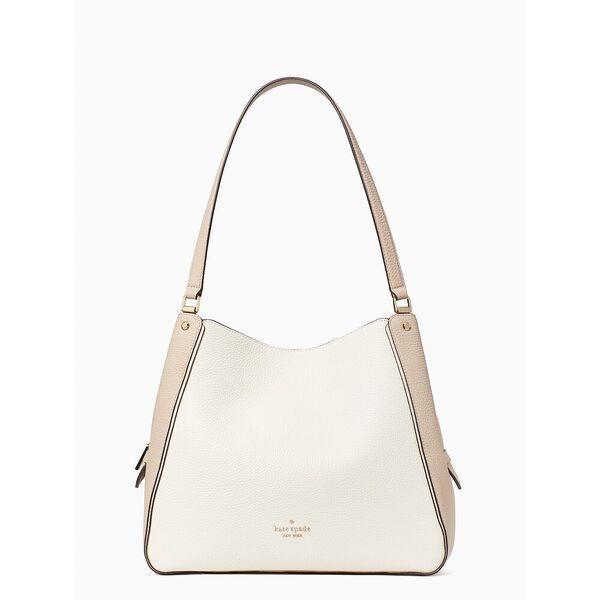 Fashion 4 - leila colorblock medium triple compartment shoulder bag