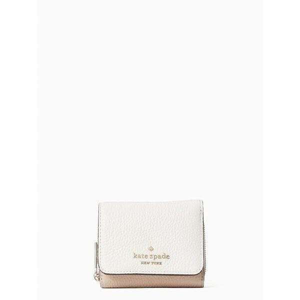 Fashion 4 - leila colorblock small trifold continental wallet