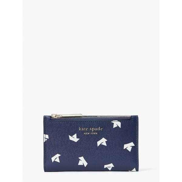 Fashion 4 - spencer paper boats small slim bifold wallet