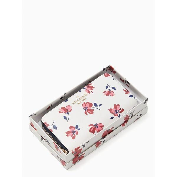 Fashion 4 - staci tea garden toss boxed large continental wallet