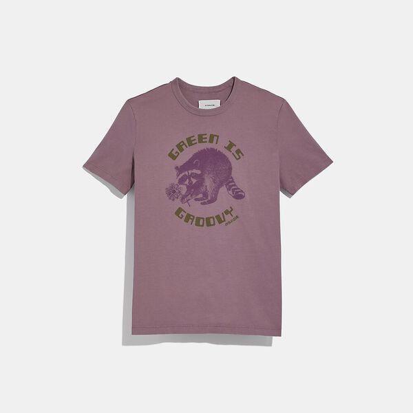 Fashion 4 Coach Green Is Groovy T-Shirt