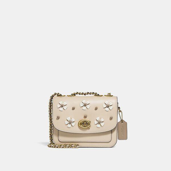 Fashion 4 Coach Madison Shoulder Bag 16 With Tea Rose Knot