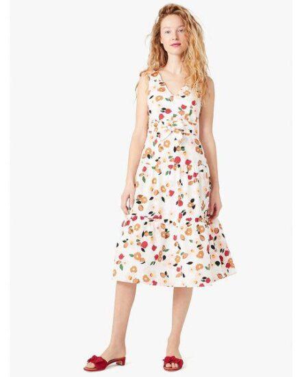 Fashion 4 - botanical garden tiered dress