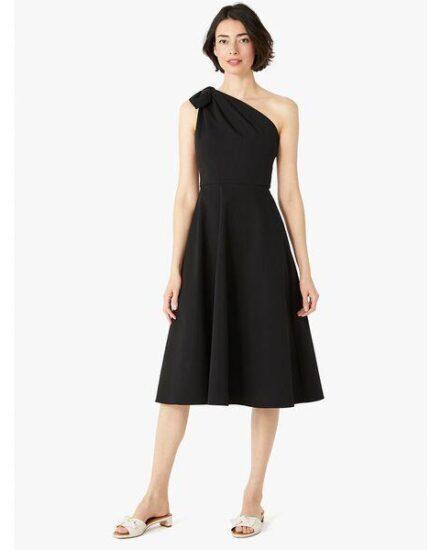 Fashion 4 - twill one-shoulder dress