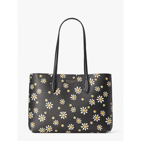 Fashion 4 - all day daisy dots large tote