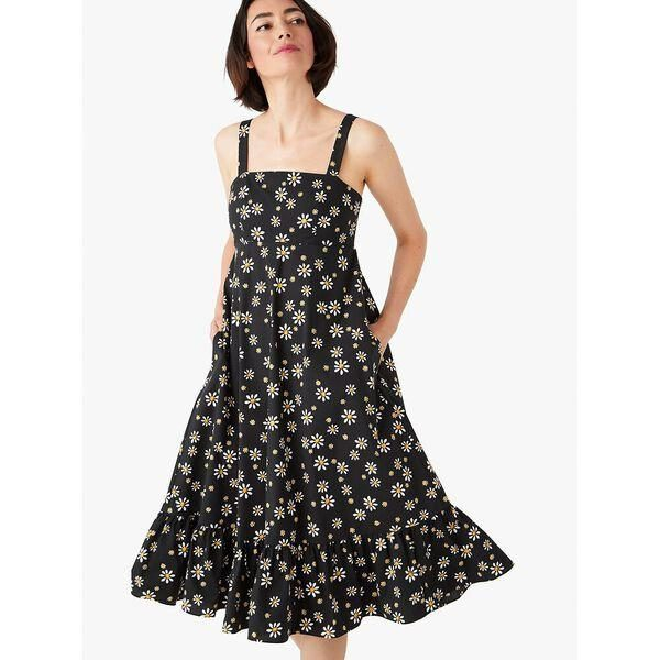 Fashion 4 - daisy dots al fresco midi dress