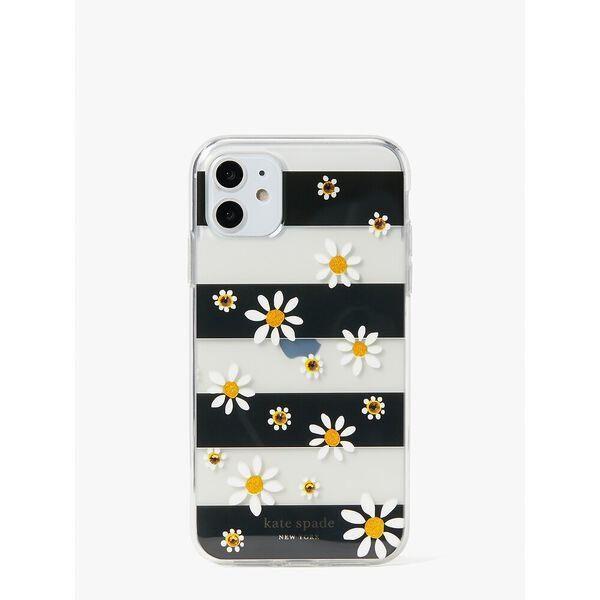 Fashion 4 - jeweled daisy dots iphone 11 case