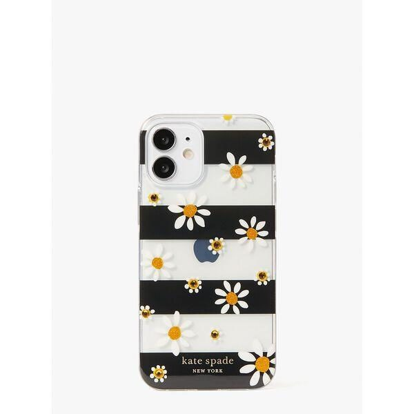 Fashion 4 - jeweled daisy dots iphone 12 mini case