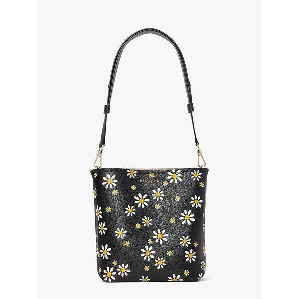 Fashion 4 - river daisy dots medium bucket bag