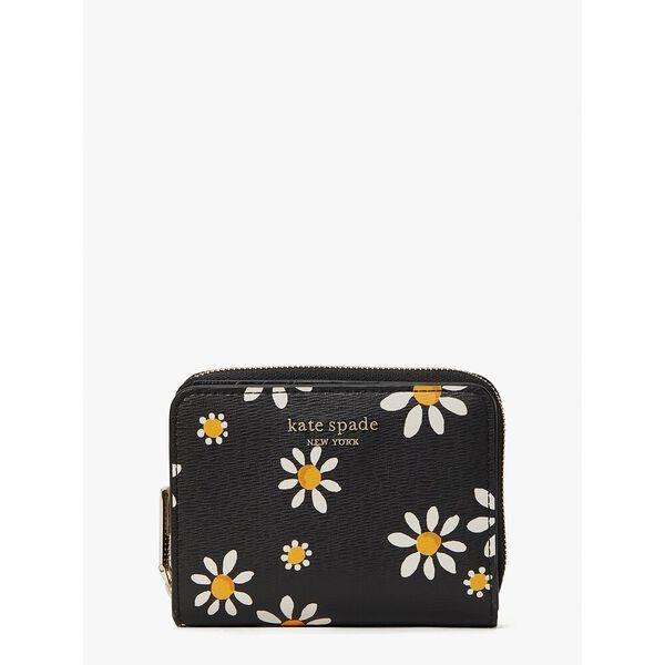 Fashion 4 - spencer daisy dots small compact wallet