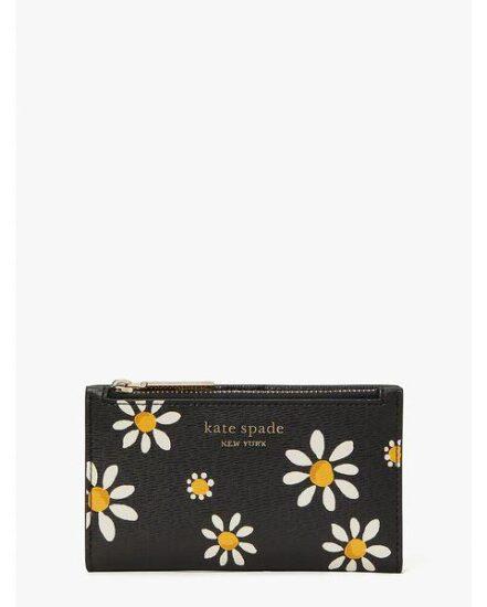 Fashion 4 - spencer daisy dots small slim bifold wallet