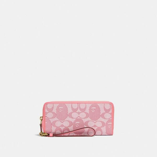 Fashion 4 Coach BAPE x Coach Phone Wallet In Signature Jacquard