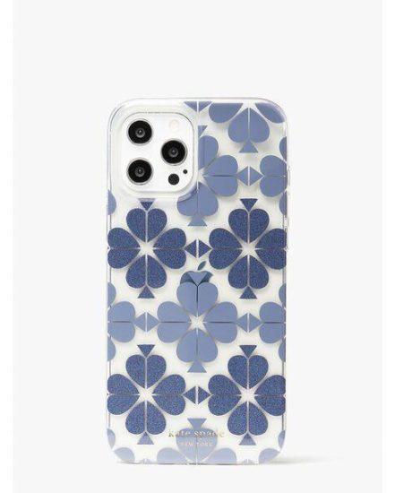 Fashion 4 - tonal spade flower iphone 12 pro max case
