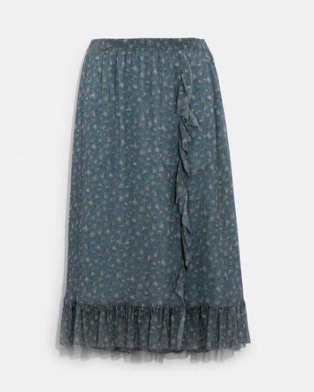 Fashion 4 Coach Crepon Skirt