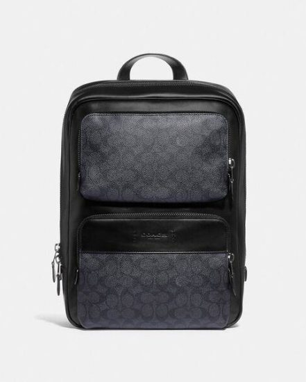 Fashion 4 Coach Gotham Backpack In Signature Canvas