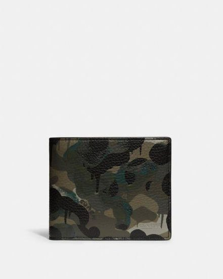 Fashion 4 Coach 3-In-1 Wallet With Camo Print